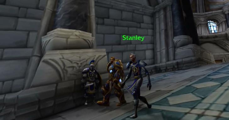 《魔獸世界》暴風城中驚現全新 NPC,原來是漫威之父史丹·李!