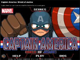 網頁遊戲:《美國隊長:正義之盾》