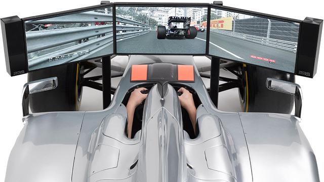 Costco好事多網站竟有賣百萬 F1駕駛模擬器!