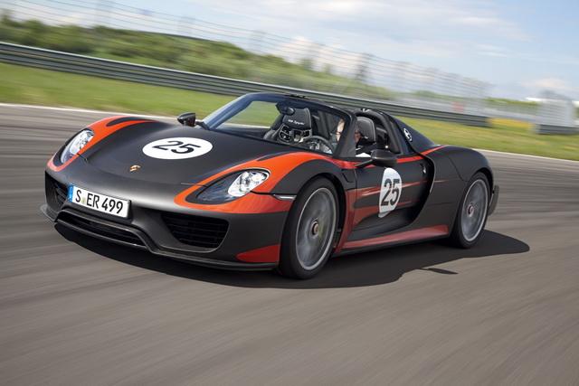 Hybrid混合動力!Porsche 918 Spyder肩負保時捷未來發展指標