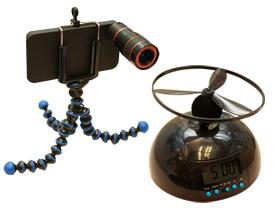 T小編挖寶:吵死你的飛行鬧鐘、土砲 iPhone 長鏡頭