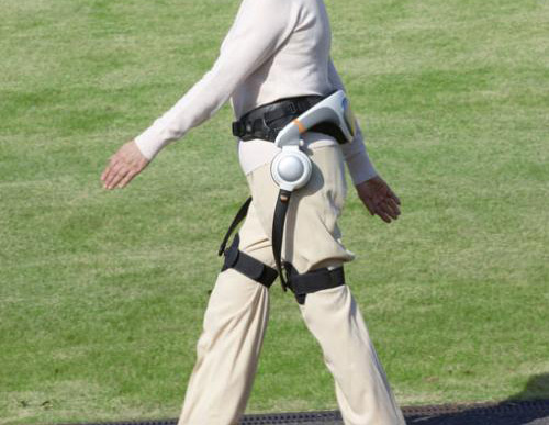 Honda WAD行走輔助裝置即將問世,阿婆也能健步如飛了!