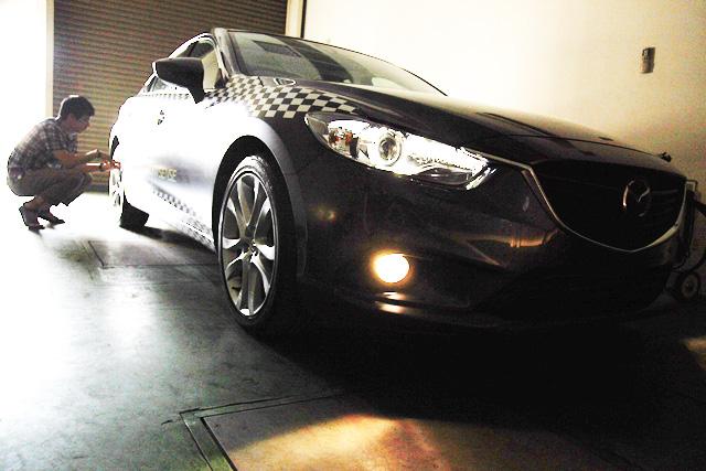 台灣首輛全新 Mazda6測試認證車將於大鵬灣賽道現身!安全前導車也要偽裝現身?