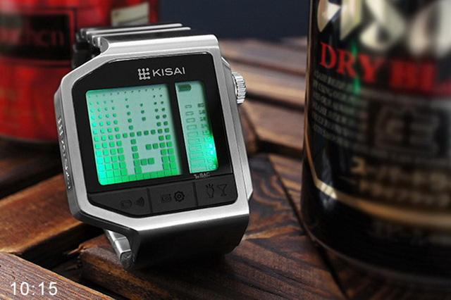 具有酒精濃度 LED顯示的 Tokyoflash呼氣酒測錶!還內建了反應測試的小遊戲!