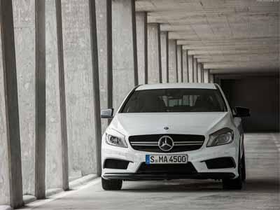 M-Benz AMG的四缸新動力入替!前驅底盤、四驅設定,賽道上一樣勇猛無敵!