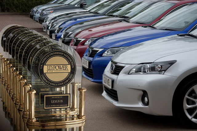 J.D.Power台灣新車銷售滿意度調查(SSI):Lexus還是贏家、Hyundai進步亮眼