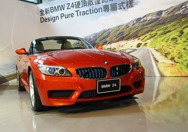 Design Pure Traction專屬套件讓你的 BMW Z4硬頂敞篷跑車變得更陽光!