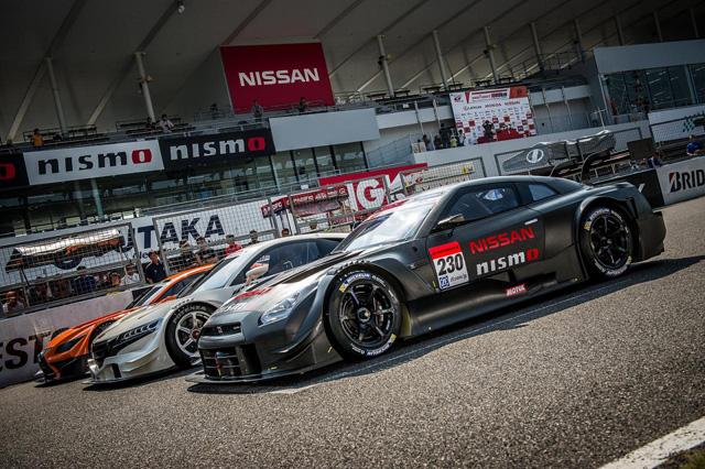 日本最強 Honda NSX、Lexus LF-CC、以及 Nissan GT-R GT500賽車首度於鈴鹿賽道見面!