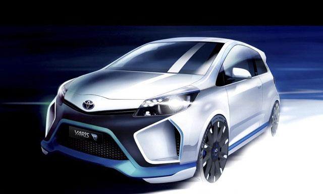 420匹馬力的 Toyota Yaris Hybrid-R概念車,雙B性能鋼砲要小心了!