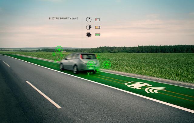 智慧型公路能替電動車充電並提示危險路況