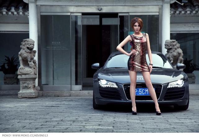 老王他阿爸說中樂透後一定要買部 Audi R8...但他老媽堅持不准!