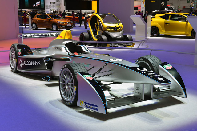 Spark-Renault SRT 01E電動賽車計畫明天出賽!會不會安靜的讓觀眾睡著了?
