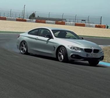 BMW 435i雙門轎跑車葡萄牙試駕影片,車手不聽規定,拼命甩尾!