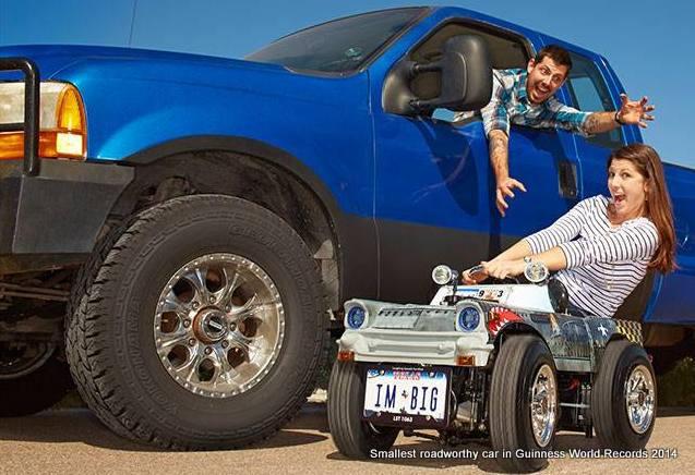 金氏世界記錄:全世界最小的車,猜猜它有多省油?