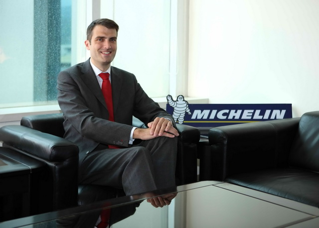 台灣米其林新任總經理裘德瑞(Frédéric Chouquet-Stringer)正式到任