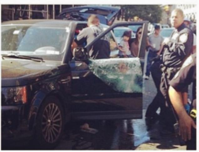 美國華裔家庭駕駛 Range Rover慘遭百名飛車黨追殺!父親重傷倒地,一騎士終身癱瘓