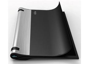NB不只是兩片,Fujitsu 可彎曲概念筆電直接翻頁玩