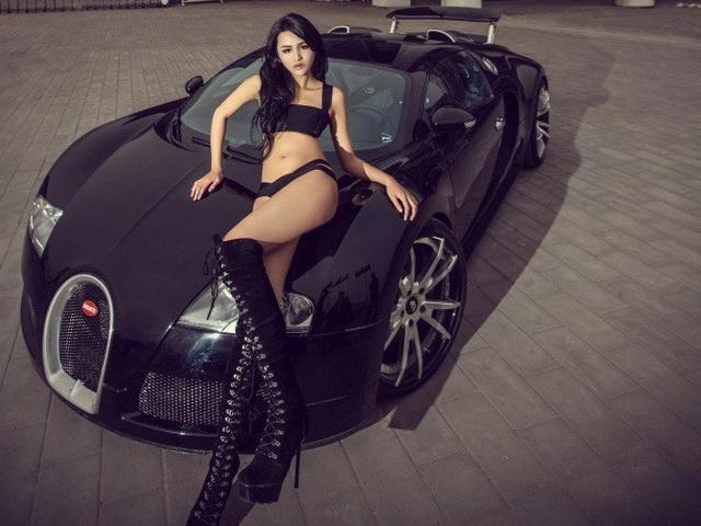 Bugatti Veyron就是現在全世界最會衝直線、售價最貴的量產車!借來拍照你說如何?