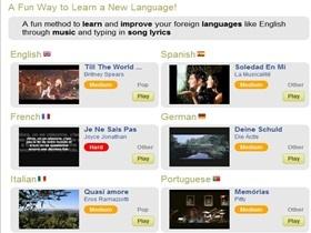 LyricsGaps,聽好歌輕鬆學外語