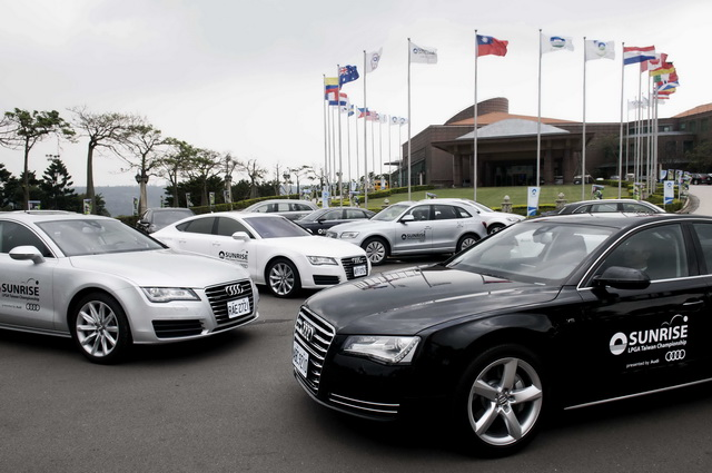 2013 揚昇LPGA台灣錦標賽即將開打!總價上億的Audi 禮賓專車高規格接待來自世界各地的嬌客
