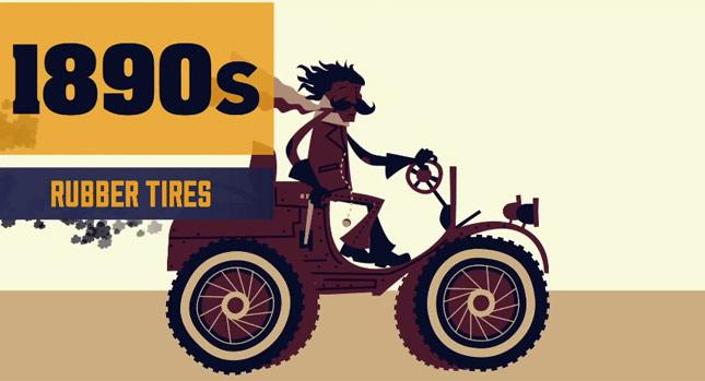 汽車進化史的突破性發明回顧短片!置杯架原來比安全帶還早誕生