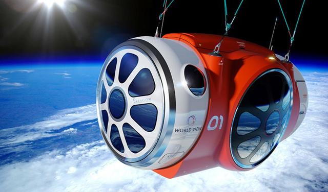 搭氣球飛上大氣層外拍攝地球美景只要200萬!iphone到上面應該不會故障吧?