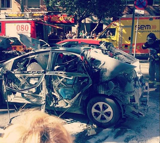 Toyota Prius LPG瓦斯計程車上路爆炸!豐田汽車不建議改裝