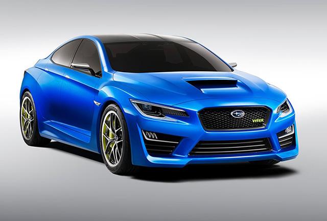 【2014台北車展預報】新世代 SUBARU WRX Concept 與透明車殼 BRZ將首度登台亮相!