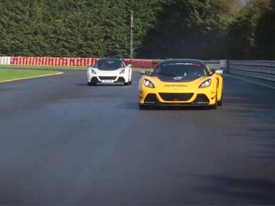 男孩與男人的差距!Lotus V6 Cup 道路版賽車 vs 工廠賽車