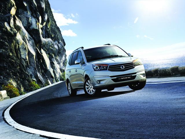 【2014台北車展預報】SsangYong柴油10年:全新七人座全尺寸 MPV「Stavic」將發表