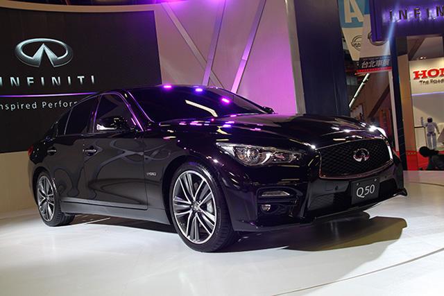 【2014台北車展】INFINITI全新轎跑Q50首度現身