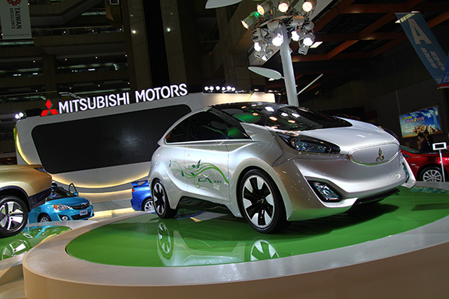 【2014台北車展】MITSUBISHI、中華汽車雙展區展出:CA-MiEV電動概念車首次登台亮相