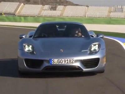 Porsche 918 Spyder賽道試駕!油電超跑也很有看頭