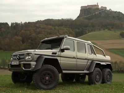 M-Benz G63 AMG vs G63 AMG 6X6!這是屬於硬漢的對決