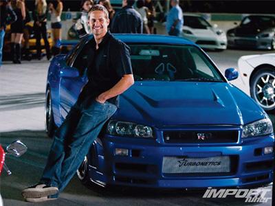 玩命關頭保羅沃克駕駛的 Nissan GT-R,要價4,050萬新台幣!可以買3輛藍寶堅尼大牛了!