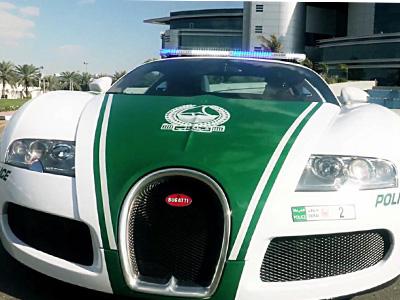 【熱門話題】杜拜超級警車隊新成員:Bugatti Veyron超級跑車!