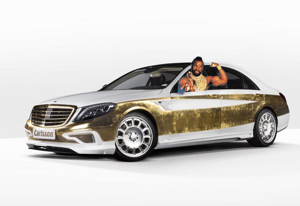 Carlsson CS Versailles土豪金賓士,專為中國超級富豪所打造!