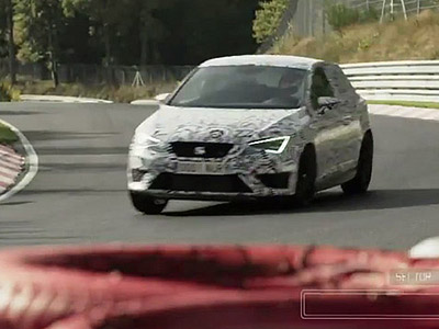 Seat Leon Cupra 280做出Nurburgring最速前驅車!7分58.44秒成績