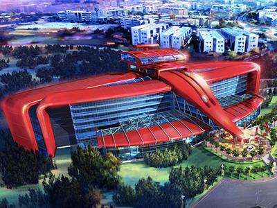 法拉利 Ferrari Land遊樂園2016年開幕,超跑加速感的垂直雲霄飛車快感!