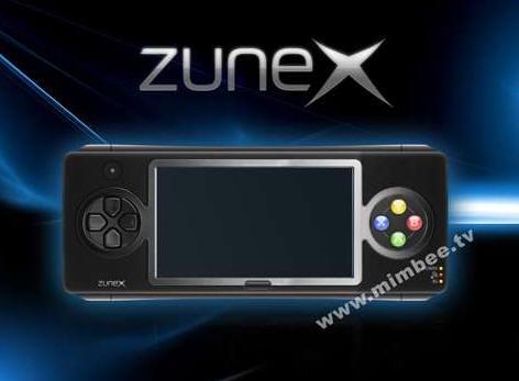 微軟掌機ZuneX曝光?
