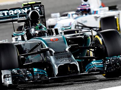 Mercedes引擎科技大幅超越對手,L. Hamilton與N. Rosberg稱霸巴林站Sakhir賽道!