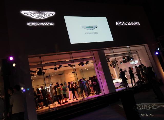 ASTON MARTIN TAICHUNG正式開幕:永三汽車以專業、熱情  完整傳達百年如一的品牌精神