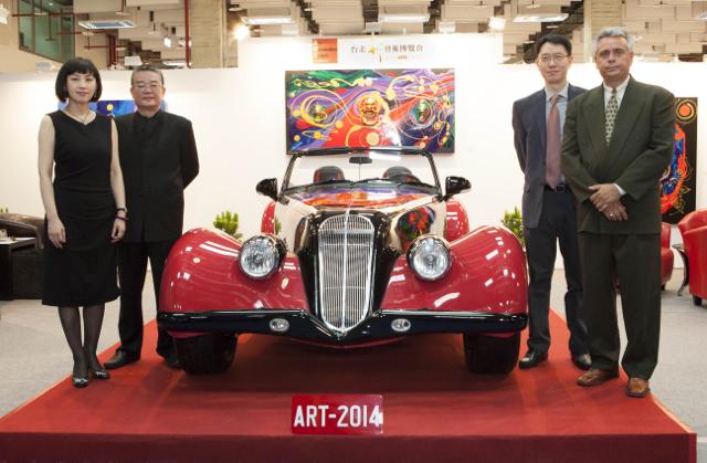 2014台北新藝術博覽會火熱登場「新古典藝術超跑」台灣首展