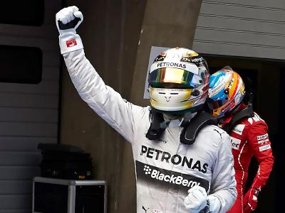 Mercedes-AMG PETRONAS奪冠氣勢中國站大勝,L. Hamilton與N. Rosberg完全制霸F1