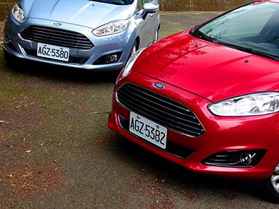2014 Ford Fiesta小改款:1.0 EcoBoost、1.5 NA試駕!超有競爭力的掀背小車