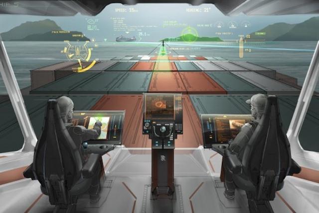 VTT與 Rolls-Royce將完成無人駕駛貨櫃船的虛擬實境駕駛技術