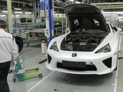 Lexus認為 Made in China的車輛會有品質問題!