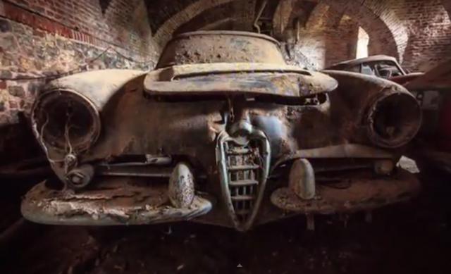 【極驚悚】比利時汽車惡靈古堡!1960年代 Alfa Romeo跑車的葬身之地...