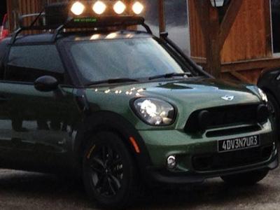 【熱門話題】BMW/MINI汽車工讀生打造的 Paceman Adventure Pickup迷你貨卡車!