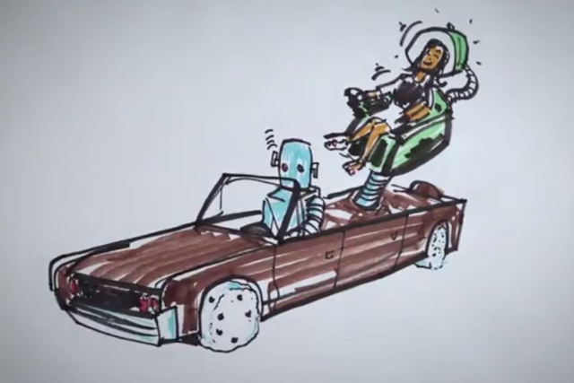 Ford請孩子們協助設計「母親節夢想車」!徹底展現孩童們天真的想像力